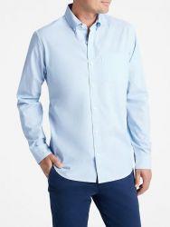 Camisa Social GAP Padrão Fit Azul