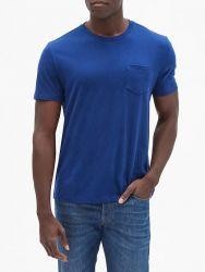 Camiseta GAP Estilo Básica- Azul Brilhante