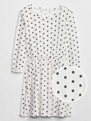 Vestido Infantil de Poá GAP - Branco