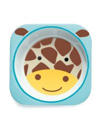 Tigela Skip Hop Infantil Zoo Girafa