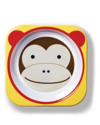 Tigela Infantil Zoo Macaco Skip Hop