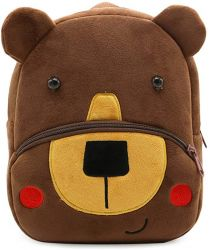Mochila Infantil Ladyzone Zoo Urso – Pré-Escolar