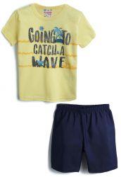 Conjunto Infantil Short + Camiseta Brandili – 2 Peças