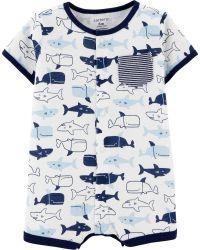 Romper Baleias e Tubarões Carter's