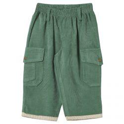 Calça Look Jeans Veludo Cotelê