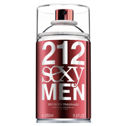 212 Sexy Body Spray Masculino Eau de Toilette - 250ml