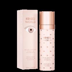 World Body Mist By Kenzo - Perfume Corporal Feminino - Eau de Toilette - 100ml