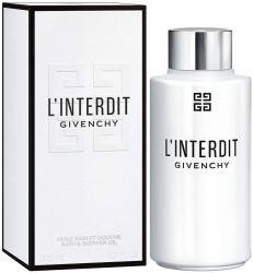 Gel de Banho L'Interdit By Givenchy – Feminino - Eau de Parfum – 200ml