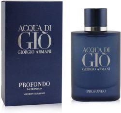 Acqua Di Gio Profondo By Giorgio Armani – Perfume Masculino - Eau de Parfum – 40ml