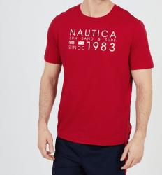 Camiseta Nautica Sun, Sand & Surf 1983 Manga Curta Masculino