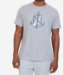 Camiseta Nautica Âncora Manga Curta Masculino