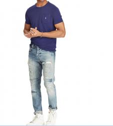 Camiseta Polo Ralph Lauren Lisa Personalizada Manga Curta Masculino